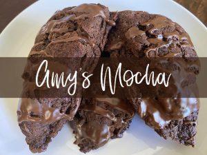 amy's mocha scone
