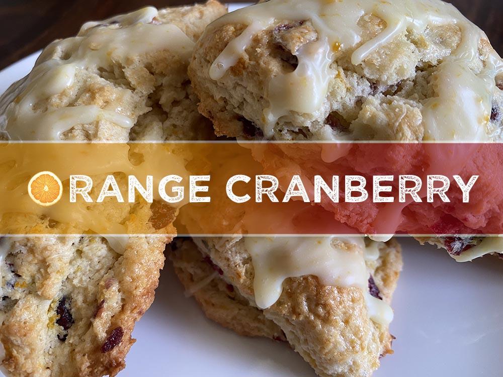 orange cranberry scone newest
