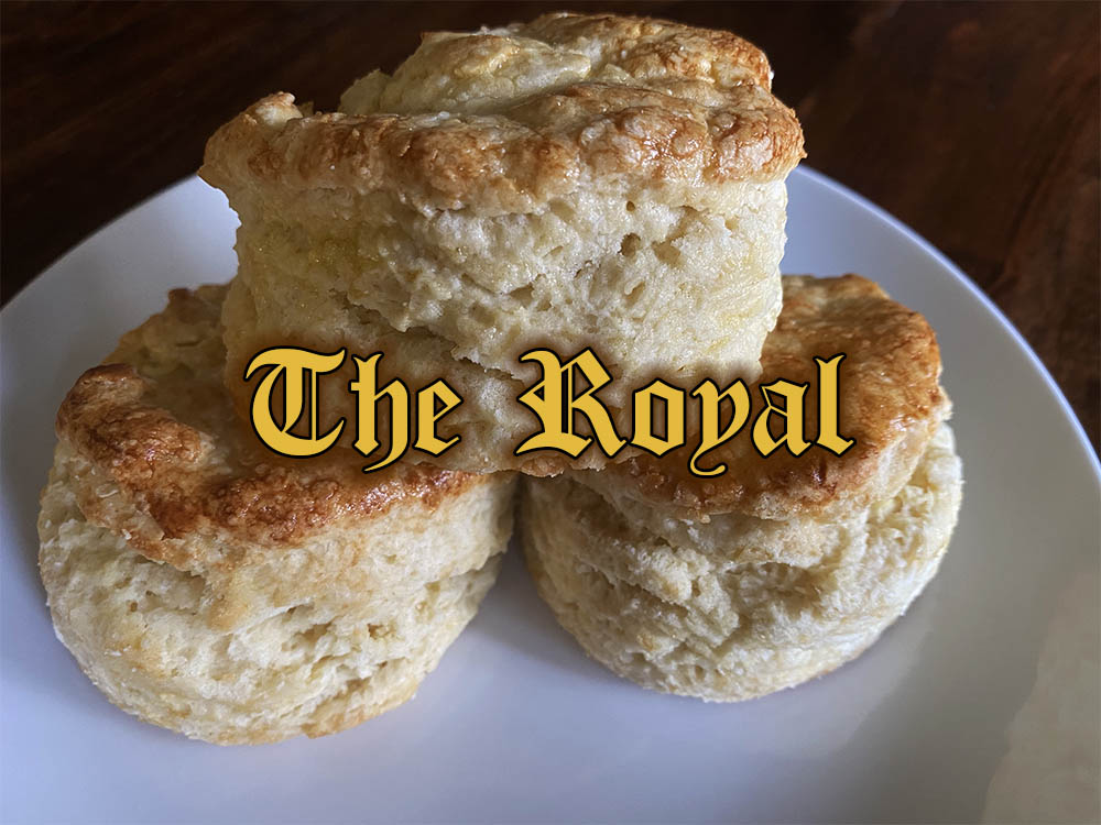 the royal traditional scone