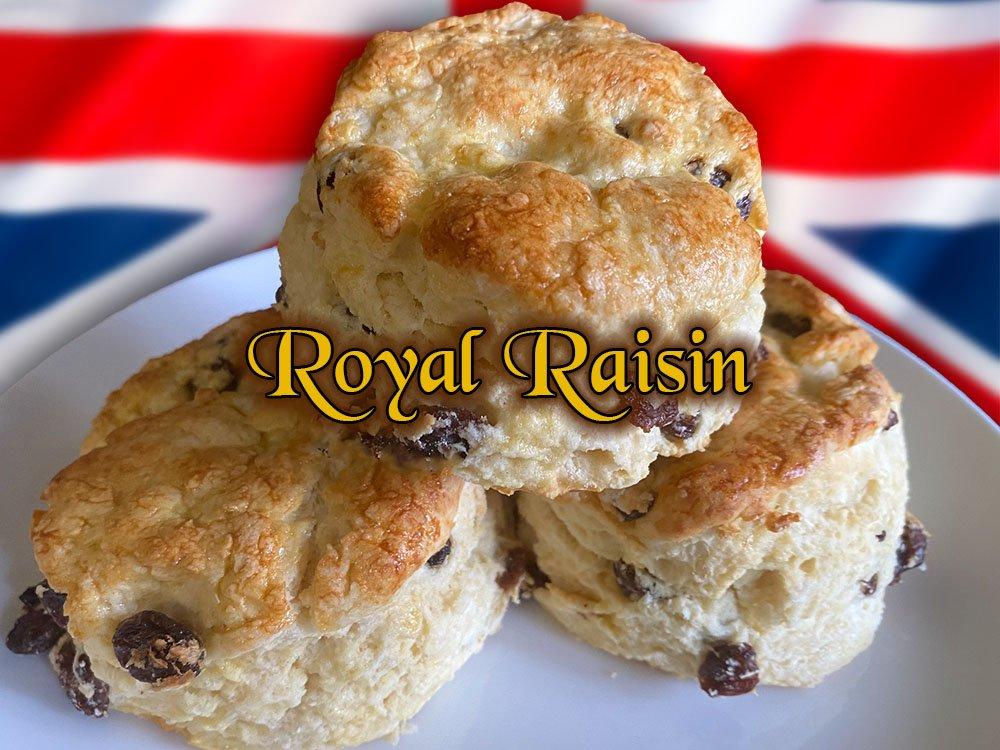 royal raisin traditional british scone