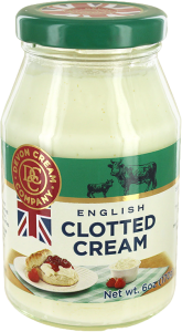 clotted cream jar