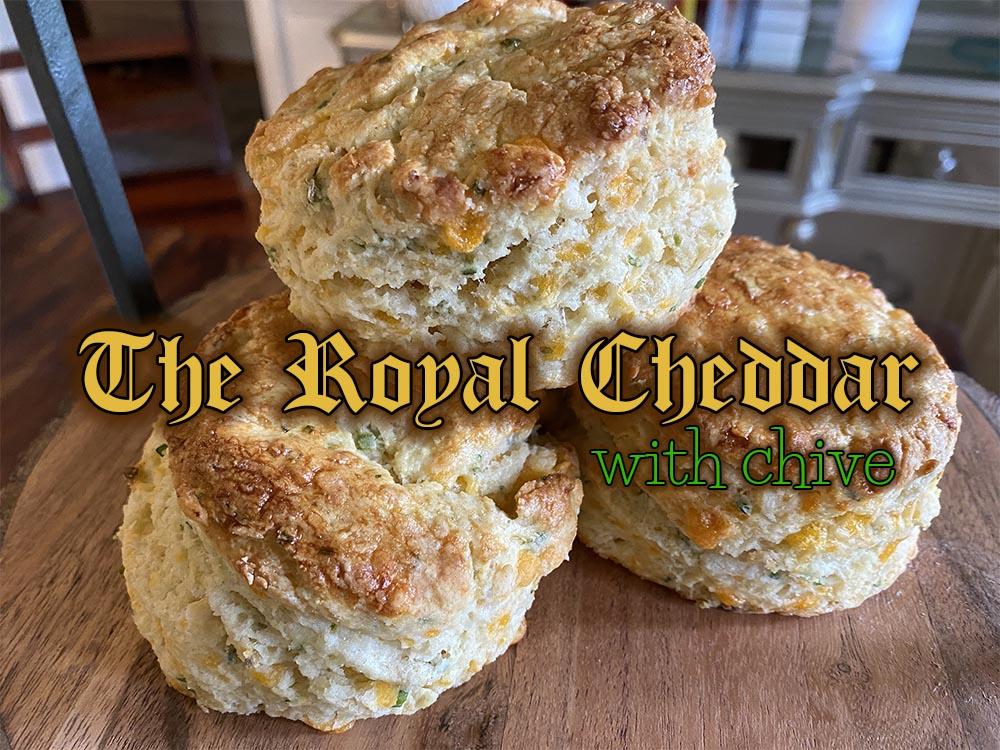 the royal cheddar scone new