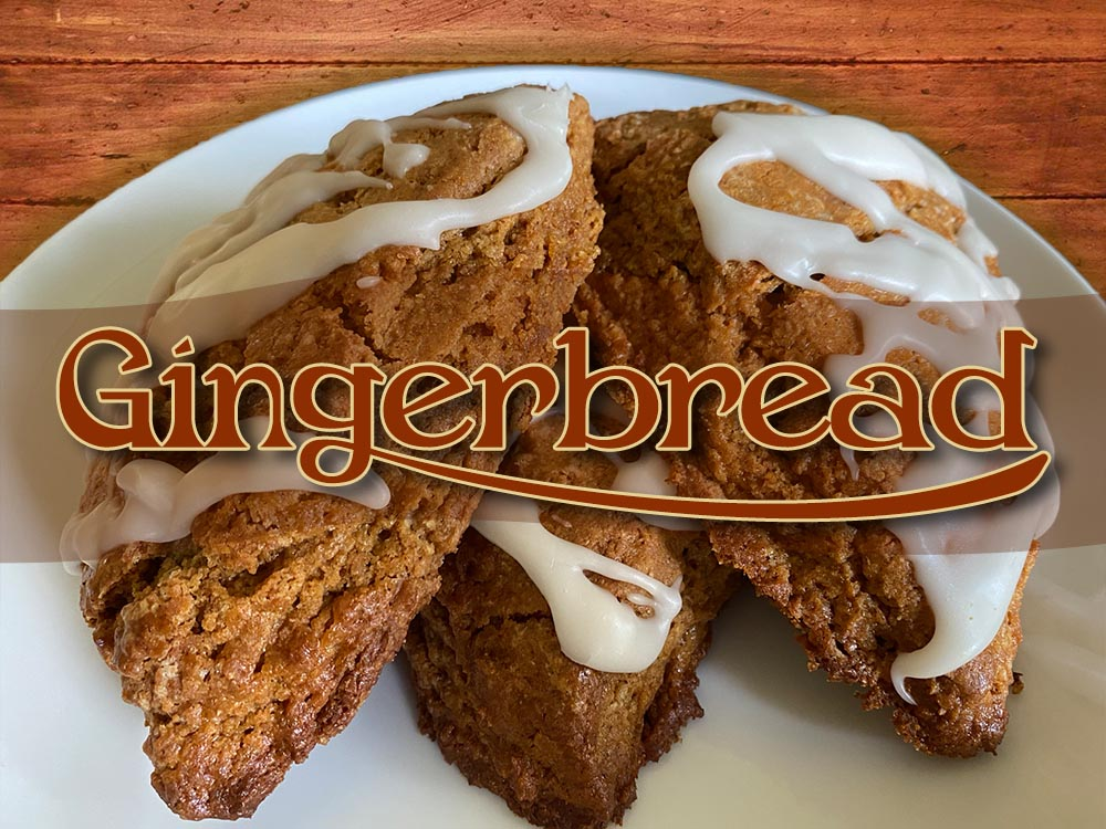 gingerbread scone new