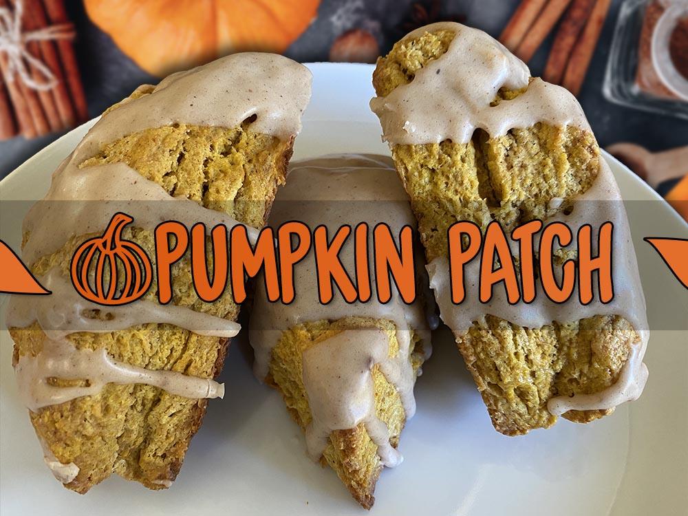 pumpkin patch scone