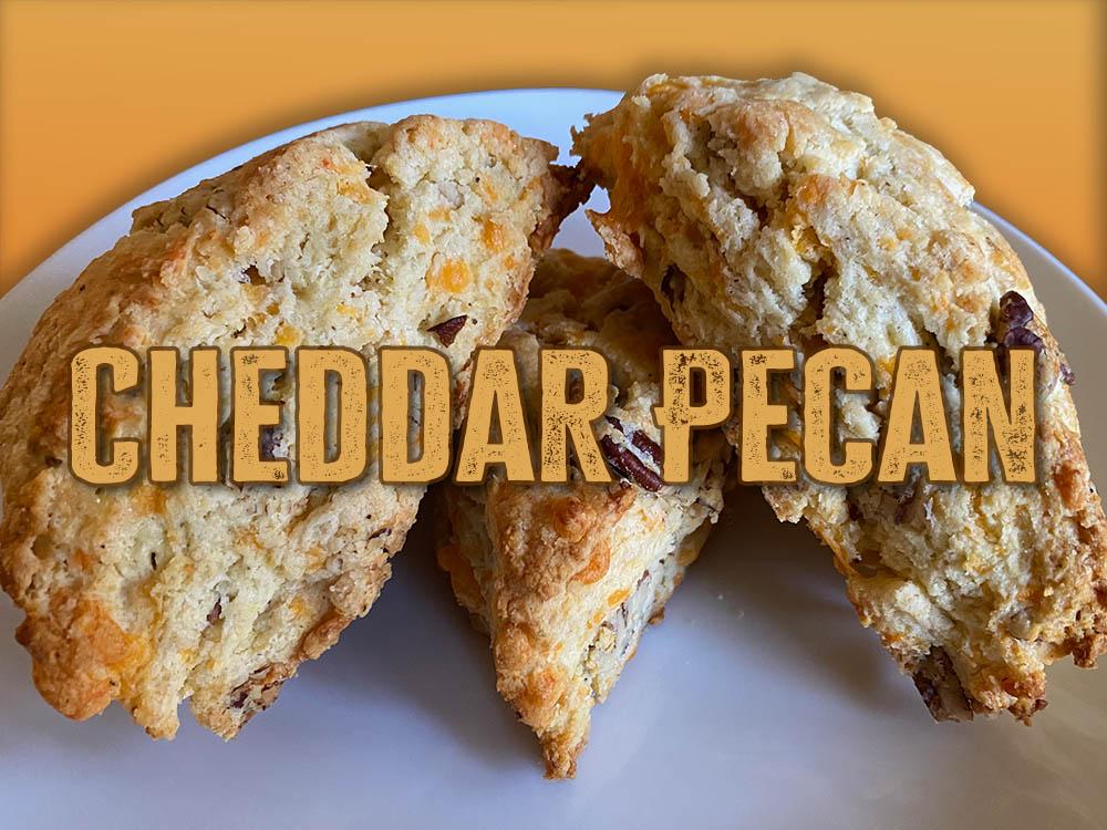 cheddar pecan scone new