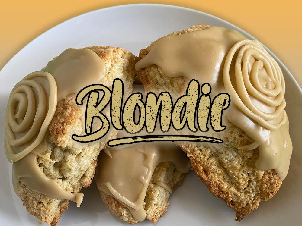 blondie scone