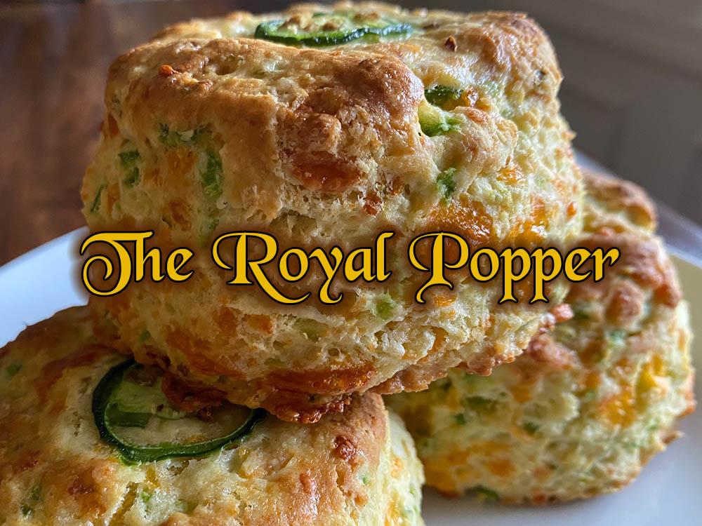 royal popper scone