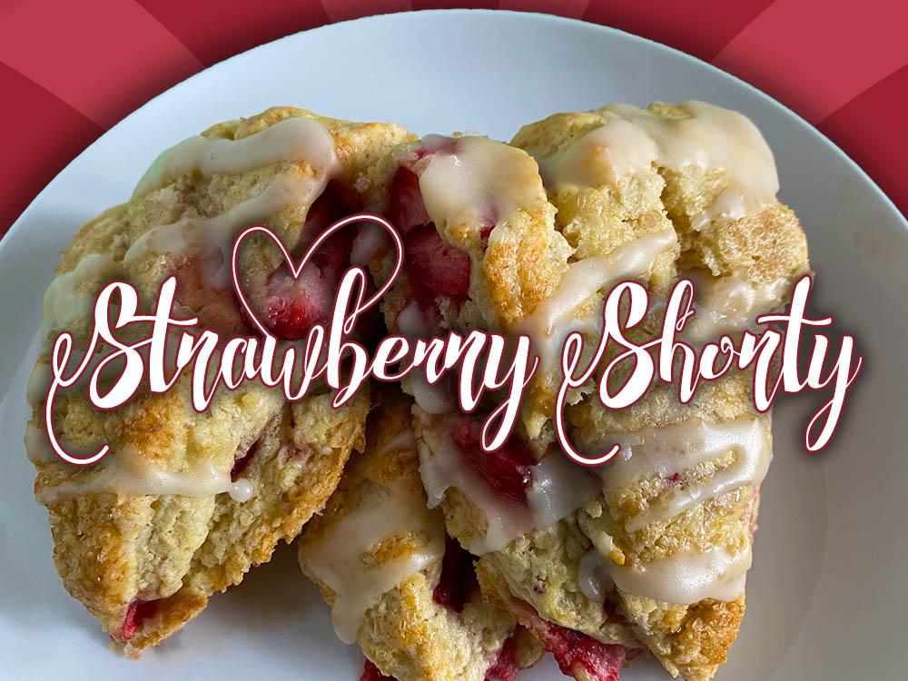 strawberry shorty scone