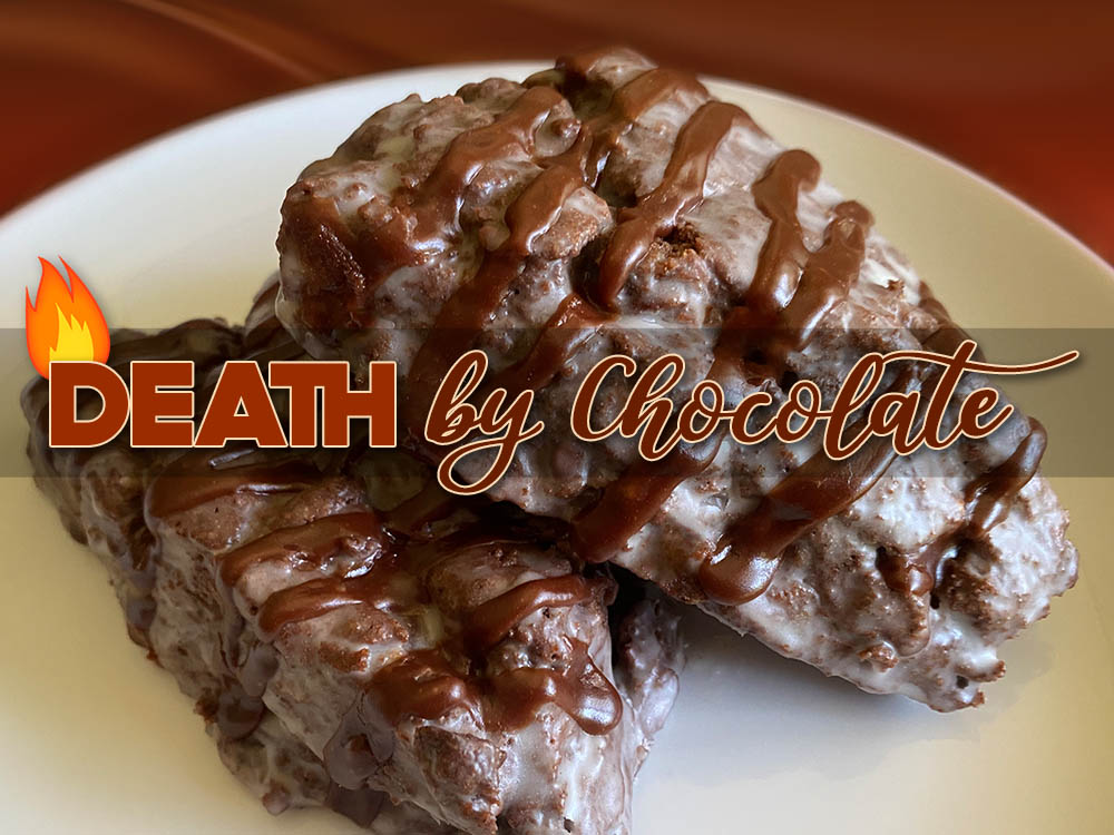 death by chocolate scone new