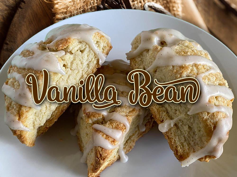 vanilla bean scone new