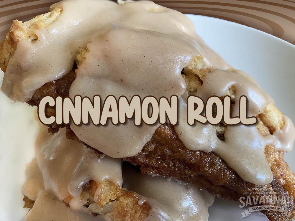 cinnamon roll scone newest