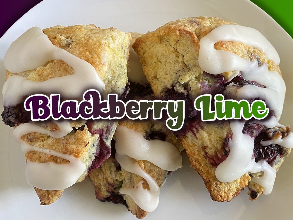 blackberry lime scone new