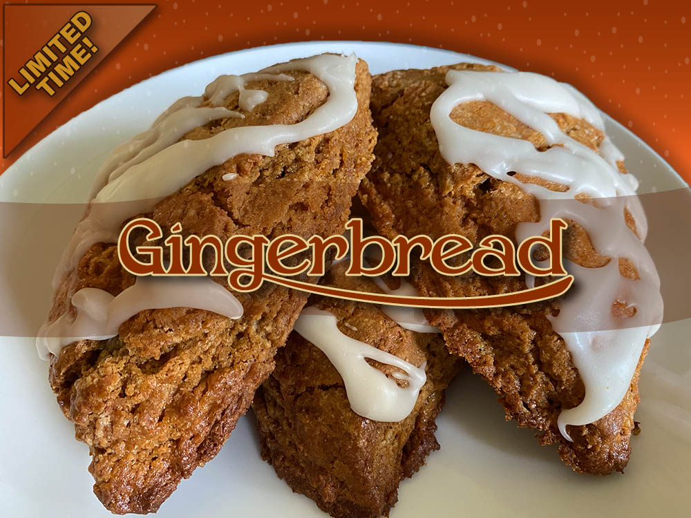 gingerbread scone limited time