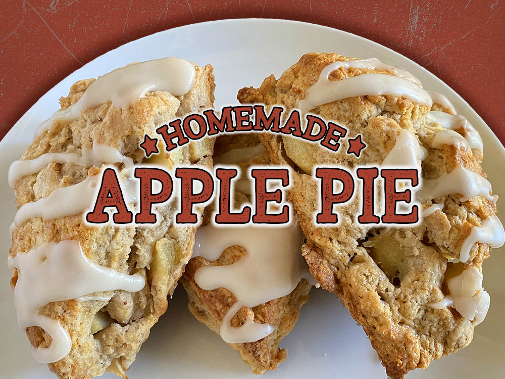 newest scone apple pie