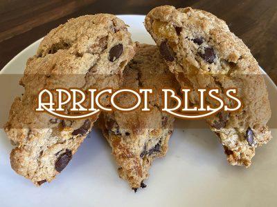 apricot bliss scone