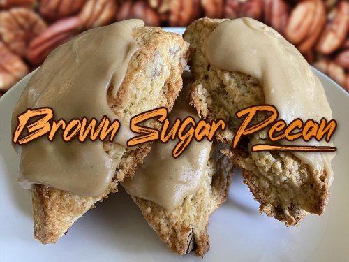 brown sugar pecan scone new