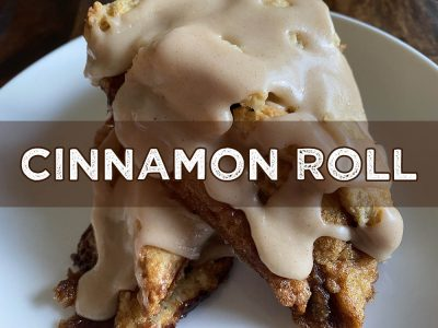 cinnamon roll scone